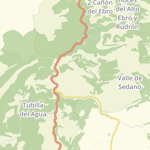 Valle De Sedano Mapa.23 Fuentes De Agua Potable En Valle De Sedano Paramos