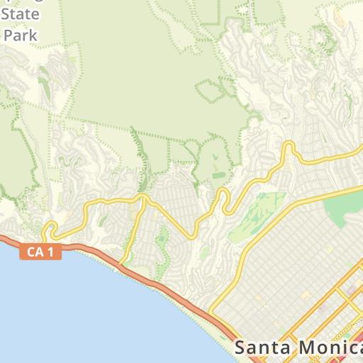 9 Briefkästen in Santa Monica, Los Angeles County