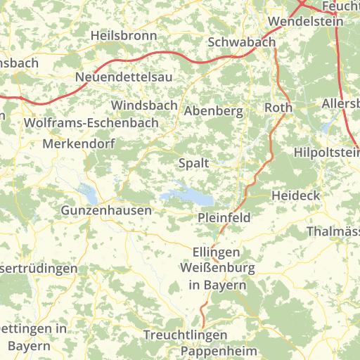Mittelfranken Karte.128 Stolpersteine In Mittelfranken Stolperstein Karte
